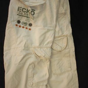 Ecko Unlimited Otherground Cargo Shorts Men's SZ36